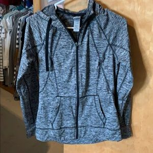 Activewear zip up hoodie